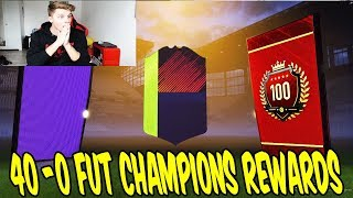 5x WALKOUT + 12 INFORMS in 40-0 TOP 100 FUT CHAMPIONS PACK OPENING! 💎🔥 Fifa 18 Ultimate Team Deutsch