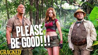 Please Be Good Jumanji: Welcome To The Jungle - Cracked Responds to the Jumanji 2 Trailer