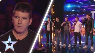 Simon rolled his eyes at this unique boyband | Britain