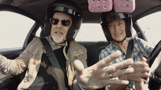 Preview: Drifting with Adam Savage and Zoe Bell!
