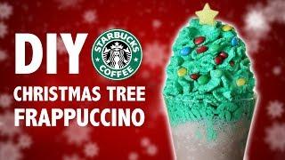 DIY CHRISTMAS TREE FRAPPUCCINO
