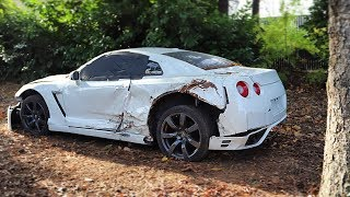 I Bought a REALLY TOTALED Nissan GT-R from a Salvage Auction & I