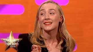 Saoirse Ronan Named Her Car 'Barbra Streisand' | The Graham Norton Show