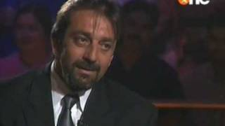 Sanjay Dutt in old KBC part 1/4