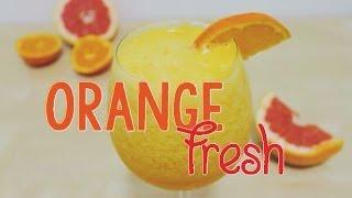 Easy Orange Fresh Juice Using a Blender
