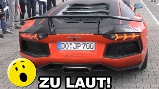 SO LAUT war der Lamborghini Aventador by JP Performance!🔥😱