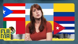Types of Spanish Accents - Joanna Rants