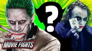 Who Should Play The Joker? - MOVIE FIGHTS!