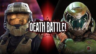 Master Chief VS Doomguy (Halo VS Doom) | DEATH BATTLE!