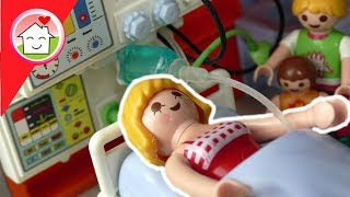 Playmobil Familie Hauser - Mama muss ins Krankenhaus - Kinderfilm