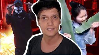 Die unglaublichsten Vorfälle der Gewalt in Hamburg & Beauty-Youtuberin, die sich im Video vergiftet