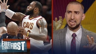 Nick and Cris react to Lebron