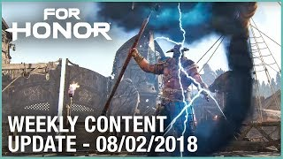 For Honor: Week 8/2/2018 | Weekly Content Update | Ubisoft [NA]