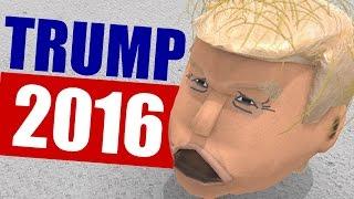 TRUMP FOR PRESIDENT - Random Games