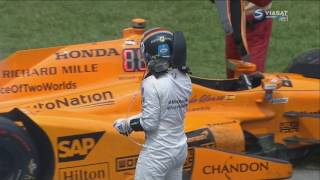 IndyCar Series 2017. Indy 500. Fernando Alonso Out + Interview