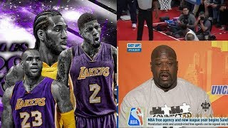 ESPN Get Up| Shaq: If LeBron, Kawhi&PG Team Up On The Lakers They Can Easily Destroy Warriors