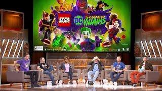 LEGO DC Super Villains E3 2018 Coliseum Panel w/ Arthur Parsons, Clancy Brown, Erica Luttrell + more