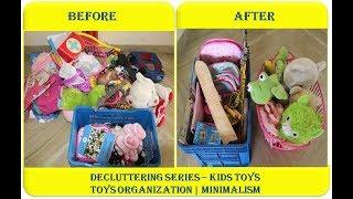 Decluttering Series | Kids Toys Organisation | Minimalism