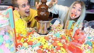 XXL Süßigkeiten vs. Schokobrunnen 😳😍 | BibisBeautyPalace