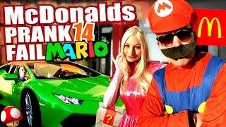 McDonalds PRANK FAIL - SUPER MARIO LAMBORGHINI - McDonalds Roulette