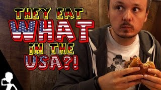 Eating American Food For The First Time   The USA Diaries   #155   Get Germanized
