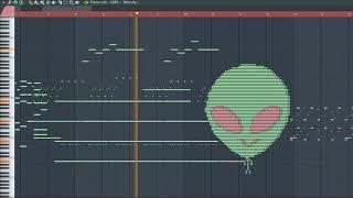What 👽 Sounds Like - MIDI Art