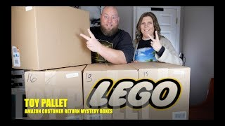 TOYS & LEGO $3,564 Amazon Customer Returns Pallet  +  LEGO SETS GALORE!