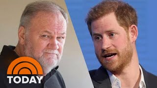 Thomas Markle Says Hung Up On Prince Harry When Talking About Staged Photos   TODAY