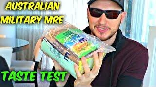 Testing Australian Military MRE (Meal Ready to Eat)
