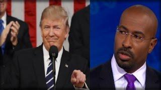 WOW! TRUMP-HATER VAN JONES USED 7 SHOCKING WORDS TO DESCRIBE TRUMP'S SPEECH! DEMOCRATS ARE FURIOUS!