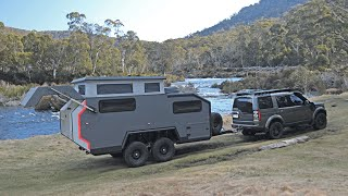 The Bruder EXP-6 off-road Camping Trailer