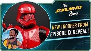 Sith Trooper from Star Wars: The Rise of Skywalker Revealed