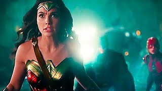 JUSTICE LEAGUE - ALL the Movie Clips ✩ Batman, Wonder Woman Movie HD