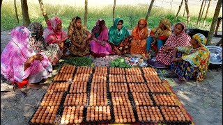 900 Eggs Curry & 40 KG Rice Cooking To Feed Whole Village People