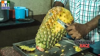 PINEAPPLE JUICE - Rajahmundry Street Foods - ANDHRA STREET FOOD