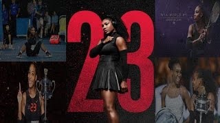 ᴴᴰAll 23 of Serena Williams Grand Slams_Titles_Winning Momentsᴴᴰ!