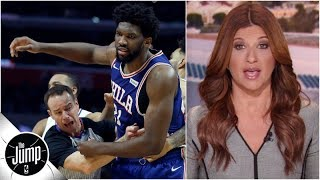 Joel Embiid cursing at Ben Simmons, proposed Kendall Jenner ban all part of 76ers circus | The Jump