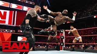 Bobby Roode & Titus Worldwide vs. Mojo Rawley & The Authors of Pain: Raw, Aug. 13, 2018