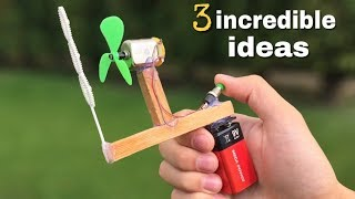 3 incredible ideas and Simple Life Hacks for Fun