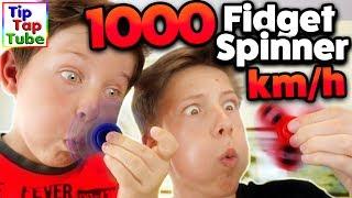 1000 KM/H FIDGET SPINNER! TipTapTube