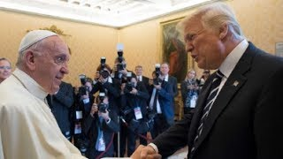 Antichrist Trump Meets The Pope: A Coming Pope Will Be The False Prophet