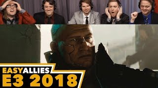 Cyberpunk 2077 - Easy Allies Reactions - E3 2018