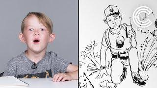 Desmond Describes His Dream Job To An Illustrator   Kids Describe   HiHo Kids