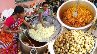 Hard Working Womans Cooking Spicy Aloo Curry   Homemade Food Good for Health Tasty Food   StreetFood