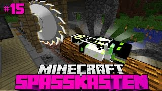 DIE SÄGEMASCHINE 7000?! - Minecraft Spasskasten #15 [Deutsch/HD]