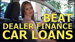 """TOP 10 TIPS - BEAT the CAR DEALER FINANCE OFFICE -Best """"How to"""" Auto F&I and Vehicle Loan Advice"""