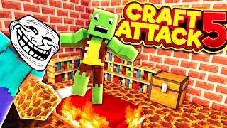 Der BODEN ist LAVA!! - CraftAttack 5 #04 - mit Ryole | Earliboy