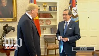 'I would give myself an A+': Six key takeaways from Trump's Fox News interview