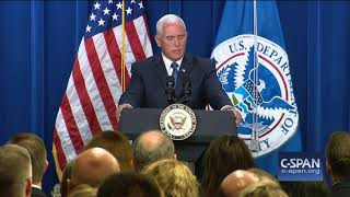 Word for Word: Vice President Pence Defends Immigration & Customs Enforcement Agency (C-SPAN)