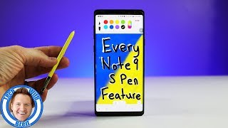 Every Galaxy Note 9 S Pen Feature